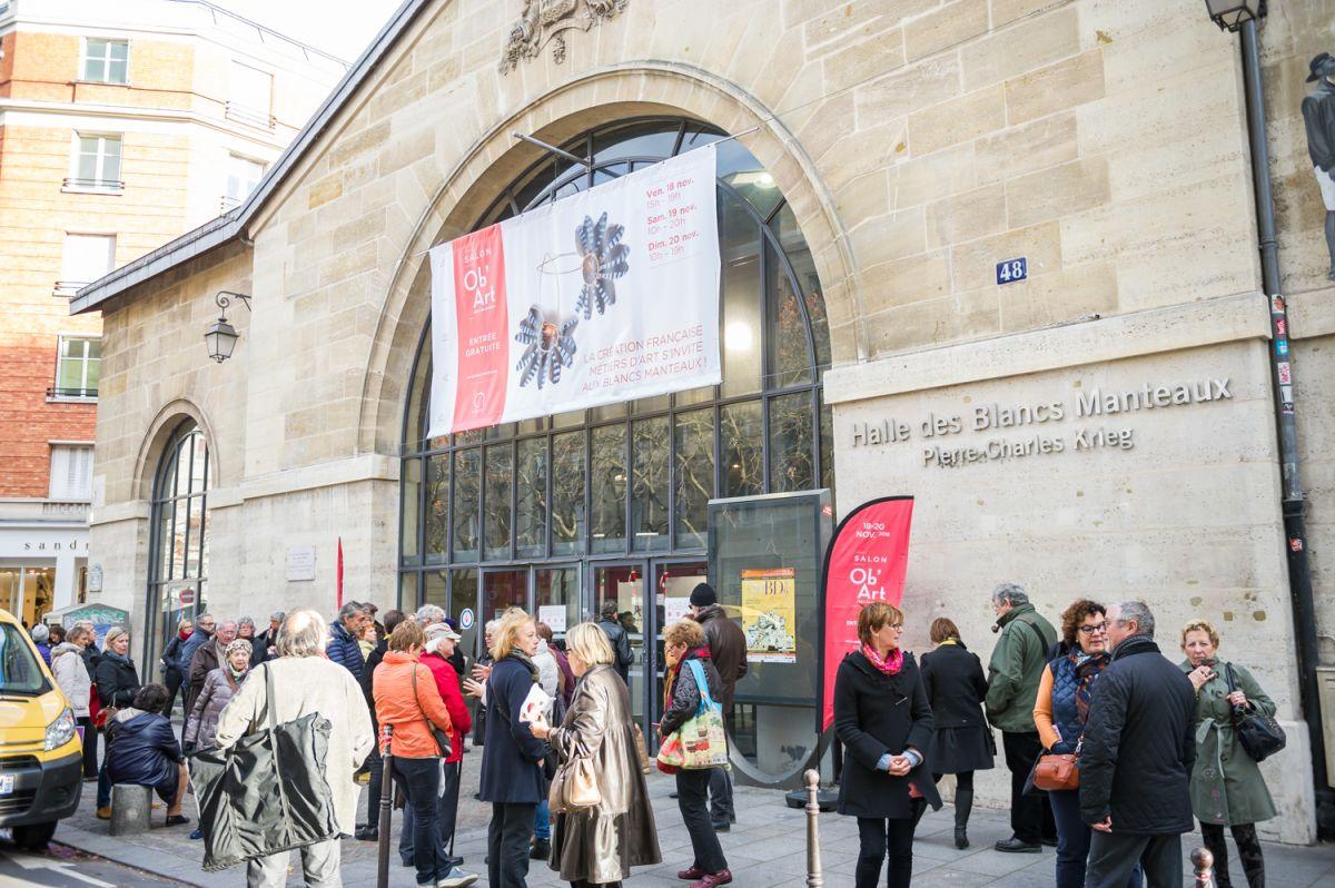 Vue d'ensemble du salon Ob'Art Paris 2016 © PhotoProEvent