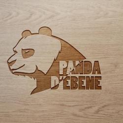 PANDA D'ÉBÈNE