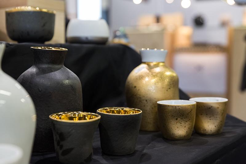 Porcelaine Arquié sur Ob'Art Bordeaux 2017 © Eric Bouloumié Photographe