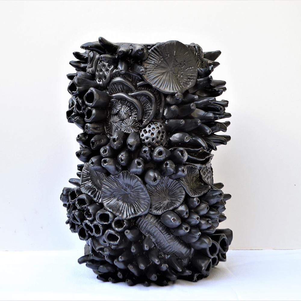 Freseau, sculpture en céramique (c) DR